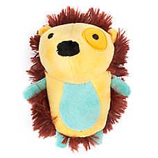 Top Paw® 2 Wild Hedgehog Dog Toy - Plush, Squeaker