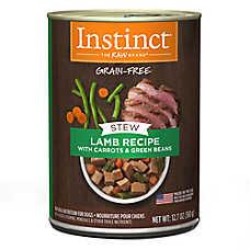 Nature's Variety® Instinct® Grain Free Stew Dog Food - Natural, Lamb