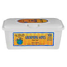 earthbath® Mango Tango Grooming Pet Wipes