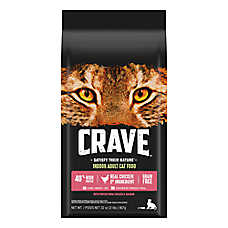 Crave Adult Cat Food - Grain Free, Chicken & Salmon