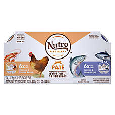 NUTRO™PERFECT PORTIONS™ Grain Free Adult Cat Food - Multi-Pack Pate, 12ct