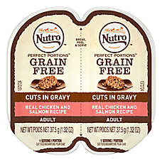 NUTRO™ PERFECT PORTIONS™ Adult Cat Food - Chicken & Salmon
