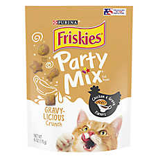 Friskies® Party Mix™ Crunch Gravy-liciious Cat Treat