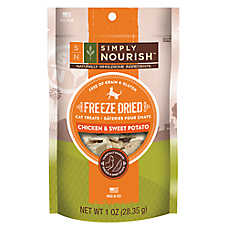 Simply Nourish™ Freeze Dried Chicken & Sweet Potato Cat Treat - Natural