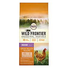 NUTRO™ Wild Frontier Indoor Adult Cat Food - Natural, Grain Free, Open Valley Recipe
