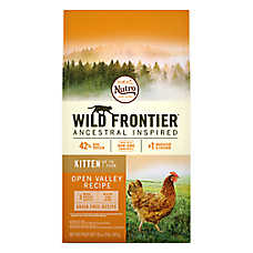 NUTRO™ Wild Frontier Kitten Food - Natural, Grain Free, Open Valley Recipe