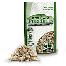 PureBites® Freeze Dried Cat Treat - Natural, Chicken & Catnip