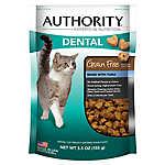 Authority® Dental Cat Treat - Grain Free, Tuna