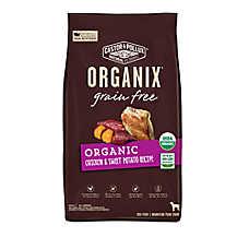 Castor & Pollux ORGANIX® Grain Free Organic Dog Food - Chicken & Sweet Potato