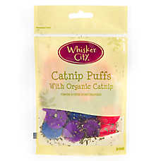 Whisker City® Organic Catnip Puffs Cat Toy