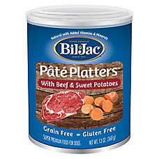 Bil-Jac® Pate Platters Dog Food - Grain Free, Gluten Free, Beef & Sweet Potatoes