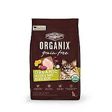 Castor & Pollux ORGANIX® Grain Free Organic Cat Food - Chicken & Sweet Potato