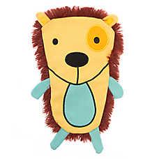 Top Paw® 2 Wild Flattie Hedgehog Dog Toy - Plush