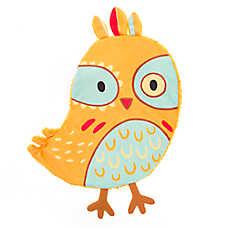 Top Paw® 2 Wild Flattie Yellow Bird Dog Toy - Plush