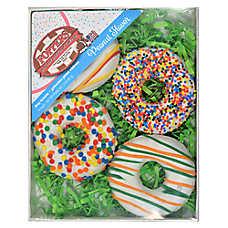 Foppers Donut Cookies Dog Treat - Peanut
