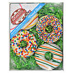 Foppers Donut Cookies Dog Treat - Peanut