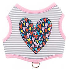 Top Paw® Heart Stripe Comfort Dog Harness