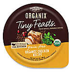 Castor & Pollux ORGANIX® Tiny Feasts Grain Free Small Breed Dog Food - Organic Chicken