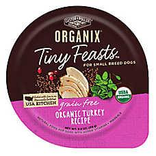 Castor & Pollux ORGANIX® Tiny Feasts Grain Free Small Breed Dog Food - Organic Turkey