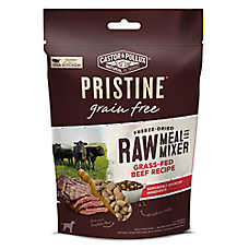 Castor & Pollux PRISTINE™ Grain Free Freeze Dried Raw Meal or Mixer Dog Food - Beef