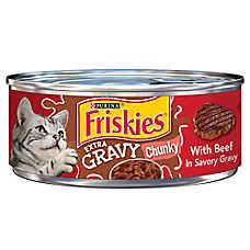 Friskies® SauceSations Cat Food - Beef in Garden Sauce