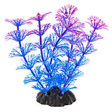 Top Paw® Glow Purple and Pink Aquarium Plant
