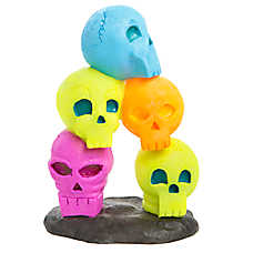 Top Fin® Skull Stack Aquarium Ornament