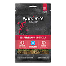 Nutrience® SubZero Dog Treat - Grain Free, Freeze Dried, Beef Liver