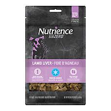 Nutrience® SubZero Dog Treat - Grain Free, Freeze Dried, Lamb Liver