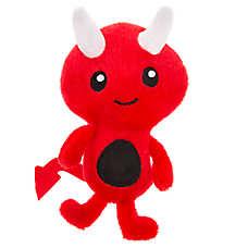 Thrills & Chills™ Halloween Devil Dog Toy - Plush, Squeaker