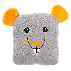 Thrills & Chills™ Halloween Sherpa Rat Dog Toy - Plush, Squeaker