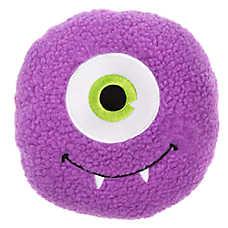Thrills & Chills™ Halloween Sherpa Monster Dog Toy - Plush, Squeaker