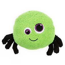 Thrills & Chills™ Halloween Sherpa Spider Dog Toy - Plush, Squeaker