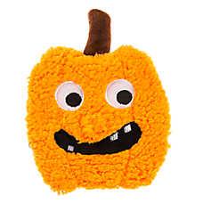 Thrills & Chills™ Halloween Flattie Pumpkin Dog Toy - Crinkle