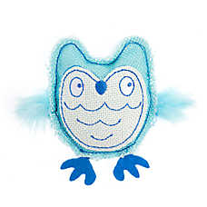 Whisker City® Owl Cat Toy - Catnip, Plush