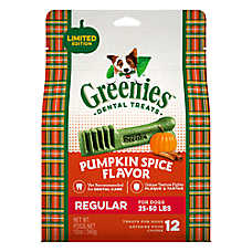 GREENIES® Regular Dental Dog Treat - Pumpkin Spice