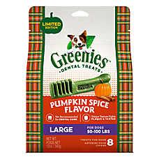 GREENIES® Large Dental Dog Treat - Pumpkin Spice