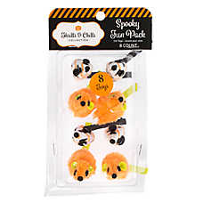 Thrills & Chills™ Halloween Fur Mice Cat Toys - 8 Pack