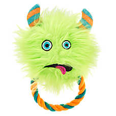 Thrills & Chills™ Halloween Fuzzy Rope Monster - Plush, Rope, Squeaker