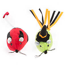 Thrills & Chills™ Halloween Devil & Witch Mice Cat Toys - 2 Pack