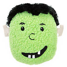 Thrills & Chills™ Hallloween Frank Head - Plush, Squeaker