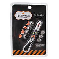 Thrills & Chills™ Halloween Chevron 5-Tip Laser Cat Toy