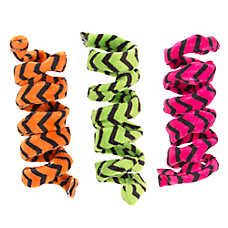 Thrills & Chills™ Halloween Chevron Twists Cat Toys - 3 Pack