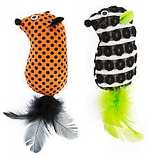 Thrills & Chills™ Halloween Mice Cat Toys - 2 Pack