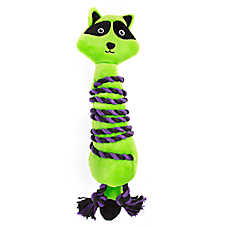 Thrills & Chills™ Halloween Roped Raccoon Dog Toy - Plush