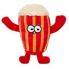 Top Paw® Sports Popcorn Dog Toy - Plush, Squeaker