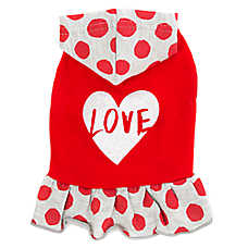 "Top Paw® ""Love"" Hoodie Dog Dress"