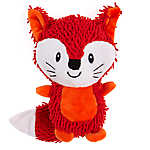 Grreat Choice® Noodle Fox Dog Toy - Plush, Squeaker
