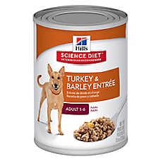 Hill's® Science Diet® Adult Dog Food - Turkey & Barley, 12ct Case