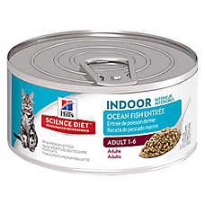 Hill's® Science Diet® Indoor Adult Cat Food - Ocean Fish, 24 ct Case